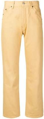 Jacquemus high-waist straight leg jeans
