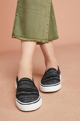 Keds Double Decker Baja Stripe Sneakers $58 thestylecure.com