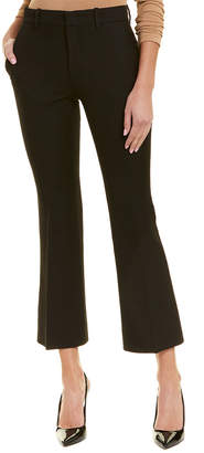 Gucci Cropped Silk & Wool-Blend Trouser