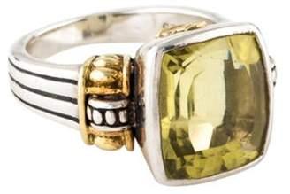 Lagos Citrine Caviar Ring silver Citrine Caviar Ring