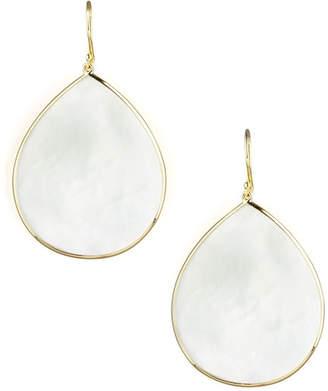 Ippolita 18k Giant Teardrop Slice Earrings in Mother-of-Pearl WJIGtnOdb