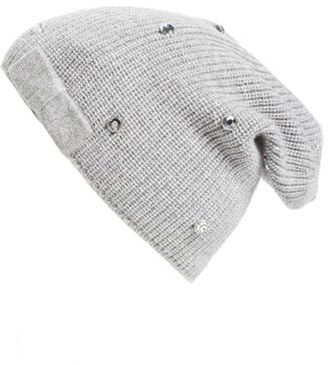 Women's Kate Spade New York Crystal Beanie - Grey $68 thestylecure.com
