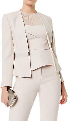 Karen Millen Sharp Suit Jacket, Neutral
