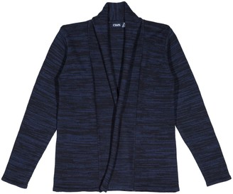 Chaps Girls 7-16 School Uniform Marled Open Front Cardigan Sweater