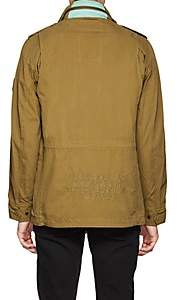 Zadig & Voltaire MEN'S BASILE COTTON FIELD JACKET - CAMEL SIZE XS