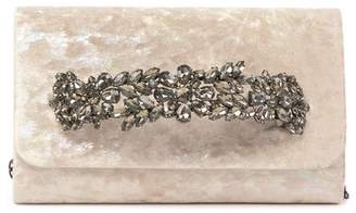 Sondra Roberts Jeweled Bar Clutch