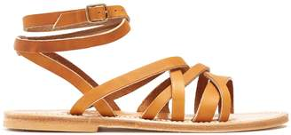 K. Jacques Aphrodite leather sandals