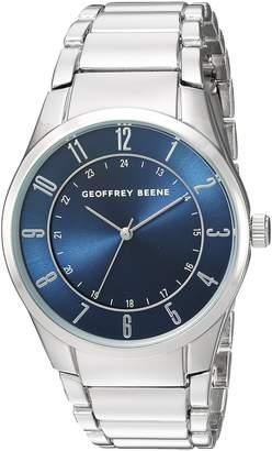 Geoffrey Beene Men's Quartz Metal and Alloy Dress Watch, Color:Silver-Toned (Model: GB8113SL)