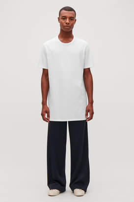 Cos LONG ROUND-NECK T-SHIRT