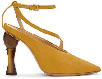 Jacquemus Yellow Les Chaussures Faya Heels