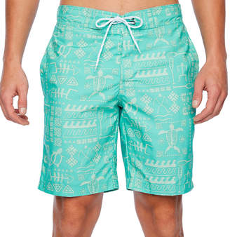 ST. JOHN'S BAY Swordfish Print Animal Swim Shorts