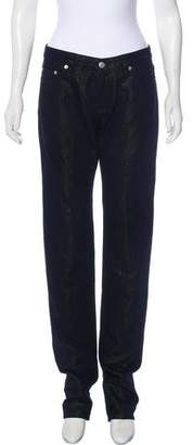 Dries Van Noten Mid-Rise Straight-Leg Jeans