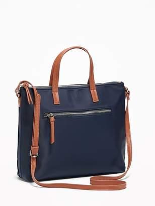 Old Navy Nylon Zip-Top Crossbody Bag for Women