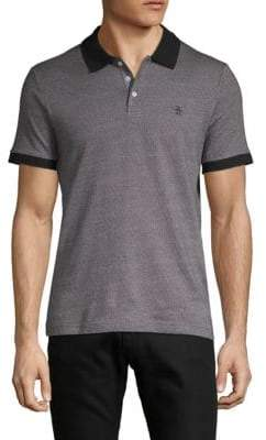 Original Penguin Birdseye Short-Sleeve Cotton Polo