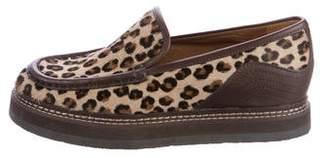 See by Chloe Ponyhair Slip-On Sneakers