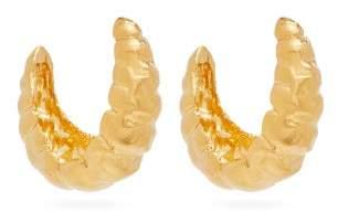Alighieri Apollos Song 24kt Gold Plated Hoop Earrings - Womens - Gold