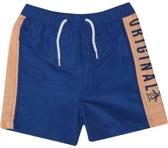7d15415f58 Original Penguin Boys Original Logo Swim Shorts Cobalt