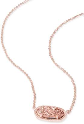 Kendra Scott Elisa Pendant Necklace in Rose Gold