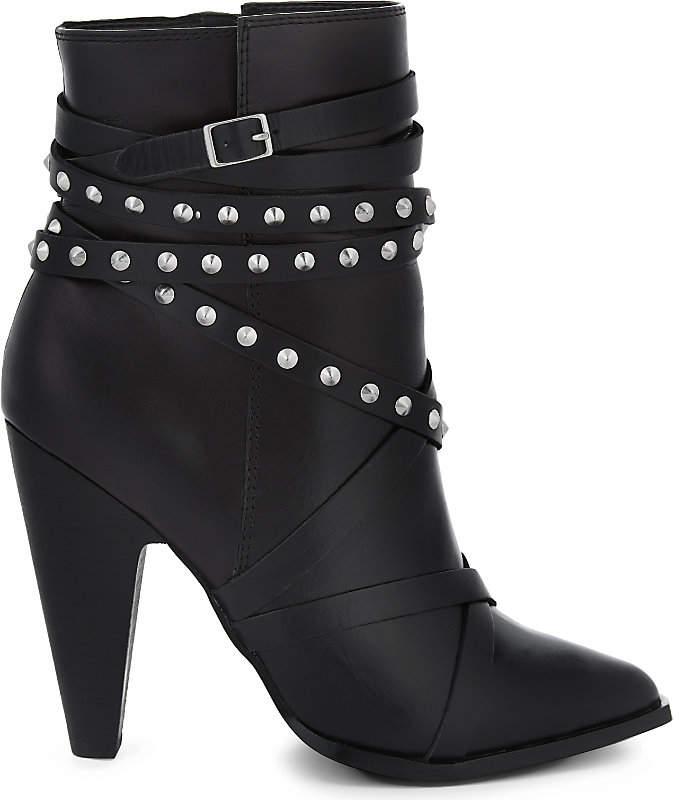 Aldo Kedaella leather heeled ankle boots
