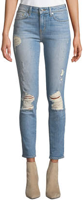 Derek Lam 10 Crosby Devi Mid-Rise Authentic Skinny Jeans