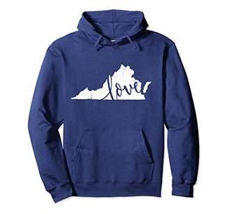 Virginia Hoodie Sweatshirt. Home State Pride Vintage Gift