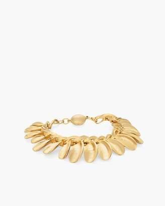 Gold-Tone Leaf Magnetic Bracelet