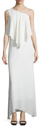 Elizabeth and James Ellie Chiffon Popover Gown, Ivory $525 thestylecure.com