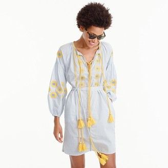 GallabiaTM embroidered tunic $250 thestylecure.com