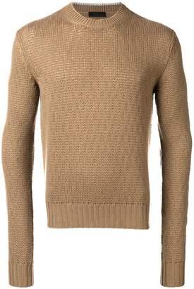 Prada knitted jumper