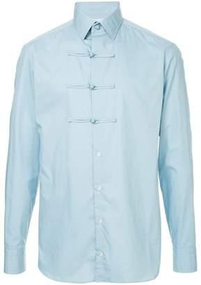 Kolor toggle button shirt