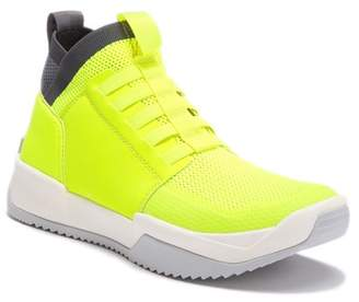 G Star Mesh Knitted Hi-Top Sneaker