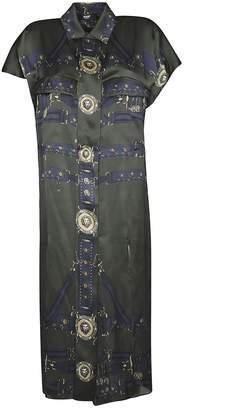 Versace Side Slits Dress