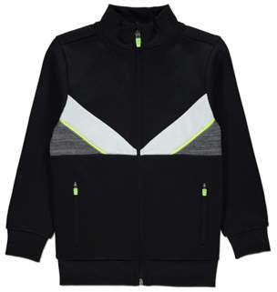 Neon Trim Zip-up Jacket