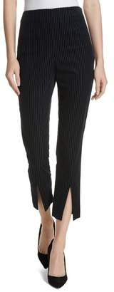 Frame Corduroy Split Cuff Ankle Pants