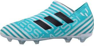 adidas Junior Nemeziz MESSI 17+ 360 Agility FG Football Boots White/Legend Ink/Energy Blue