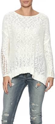 Lush Ivory Oversized Sweater $68 thestylecure.com