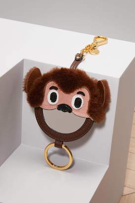 Miu Miu Monkey Key Ring with Mirror