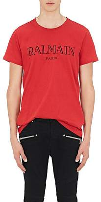 Balmain Men's Logo Cotton T-Shirt