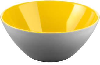 Guzzini Yellow & Grey My Fusion 25cm Serving Bowl