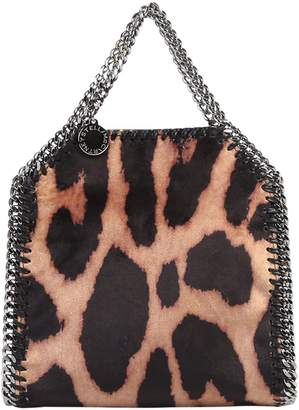 Stella McCartney Leopard Print Falabella Tiny Bag