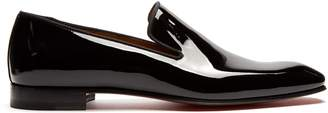 Christian Louboutin Dandelion patent-leather loafers