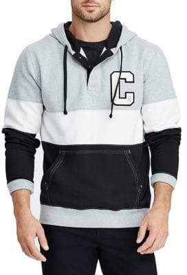 Chaps Graphic Colourblock French Terry Hoodie