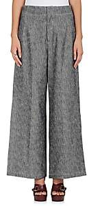 Derek Lam WOMEN'S MÉLANGE WIDE-LEG JEANS - MD. BLUE SIZE 40 IT