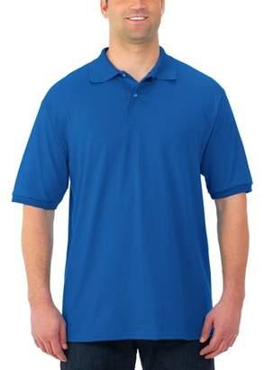 Polo Ralph Lauren JERZEES Men's SpotShield Short Sleeve Shirt