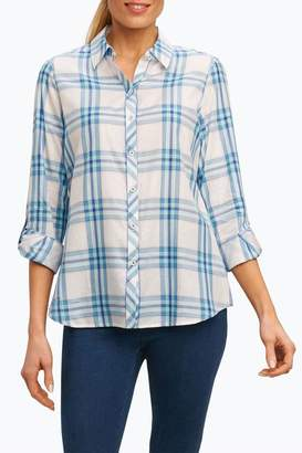 Foxcroft Big Plaid Shirt
