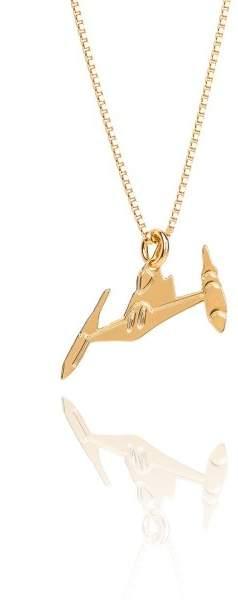 Styleserver DE Malaika Raiss STAR WARS(TM) Halskette Naboo Fighter vergoldet