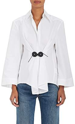 MM6 MAISON MARGIELA Women's Cotton Poplin Blouse