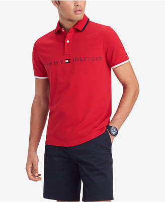 Tommy Hilfiger Men Custom-Fit Tomas Graphic Polo