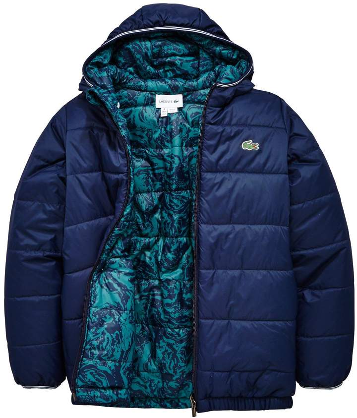 Boys Reversible Quilted Coat