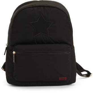 c91f04b4 Star With Front Zip Pocket Backpack